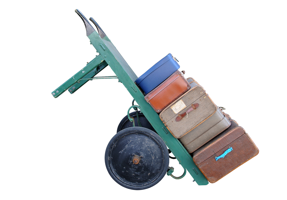 Wheelbarrow Correct Weight Distribution