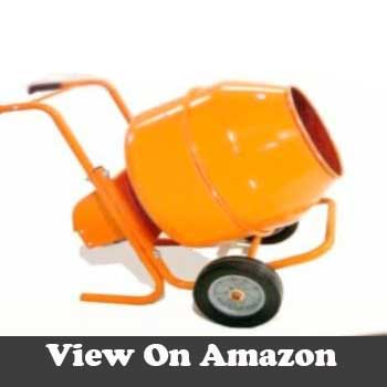 5 cubic feet wheel barrow concrete mixer