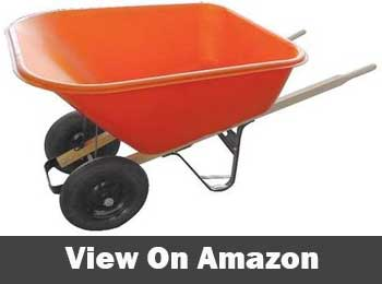 Ames true temper dual contractor wheelbarrow