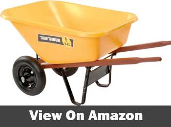 Ames true temper foot contractor wheelbarrow