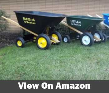 Big 4 Wheeler Heavy Duty Wheelbarrow