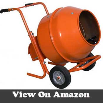 Cement mixer heavy duty wheelbarrow