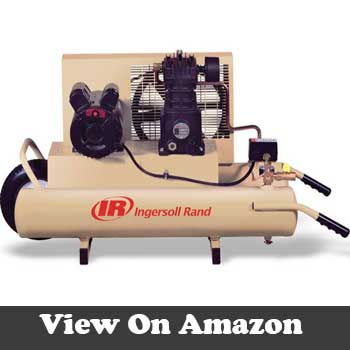 Ingersoll rand gallon oiled twin compressor