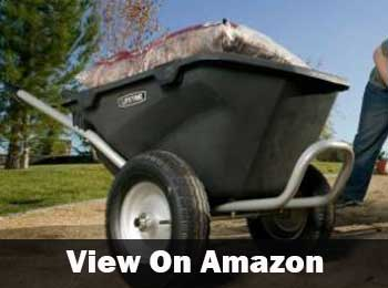 Lifetime two wheel wheelbarrow
