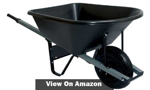 Steel Wheelbarrow with Steel Han dale Wheelbarrow
