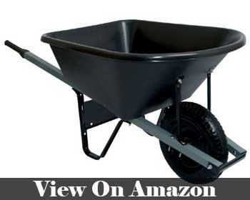 United General Steel Tray Wheelbarrow