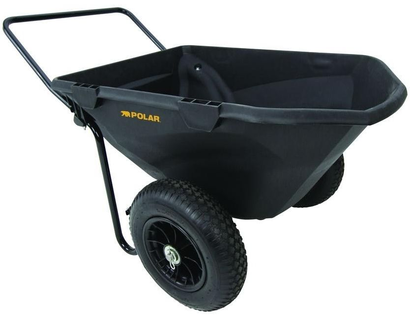 Polar Trailer 8449 Cub Cart Review – One of The Best Wheelbarrow Under 170 Bucks!