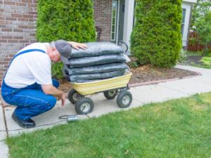 How to Fix a Flat Wheelbarrow Tire