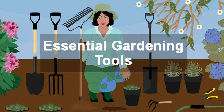 9 Essential Gardening Tools that Every Gardener should own.