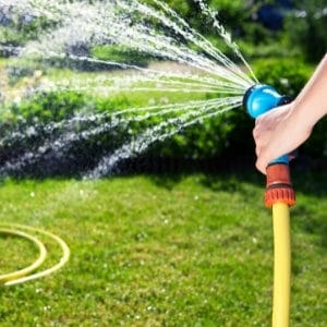 hose and sprayers for garden