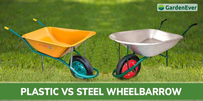 plastic vs steel wheelbarrow