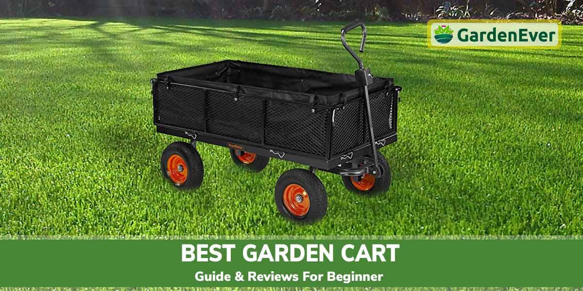 Top 10 Best Garden Cart in 2021 – Guide & Reviews for Beginner