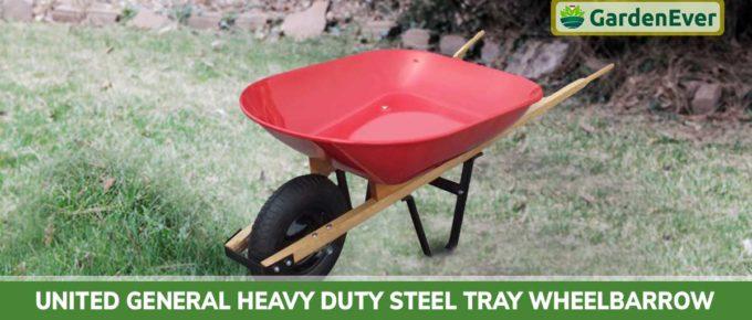 United General Heavy Duty Steel Tray Wheelbarrow Review