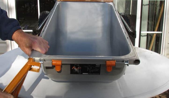 assemble worx aerocart wheelbarrow
