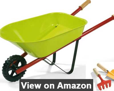 Janod Metal wheelbarrow