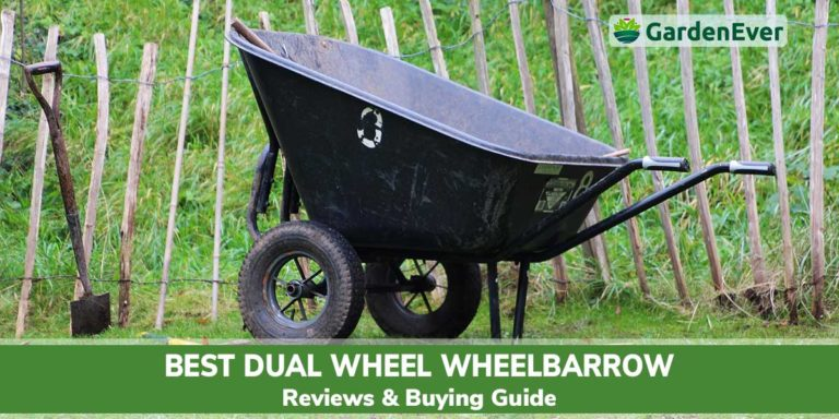 best dual wheel wheelbarrow
