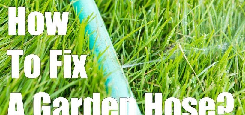 How to fix leaking garden hose connector