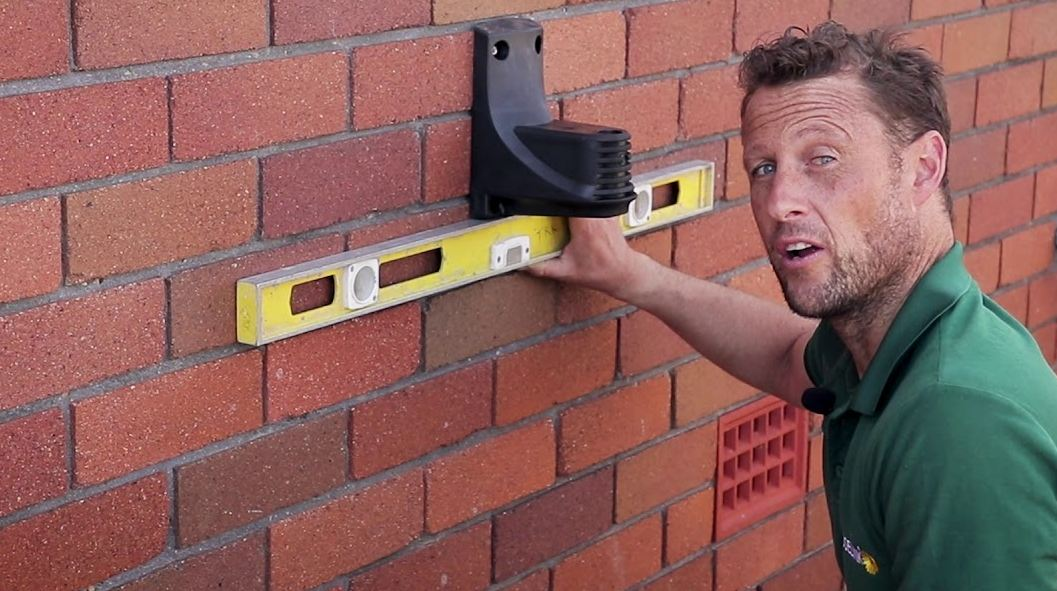 Install mounting bracket