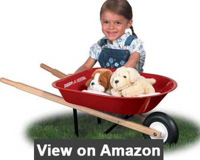 Radio Flyer Kids Wheelbarrow