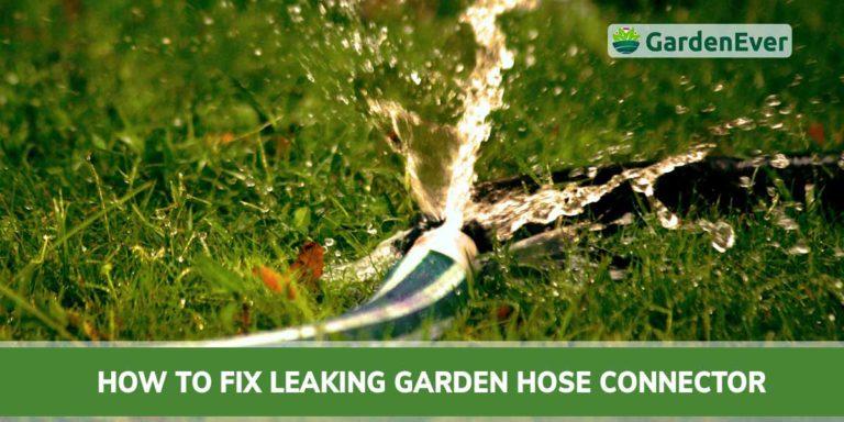 how to fix garden hose connector