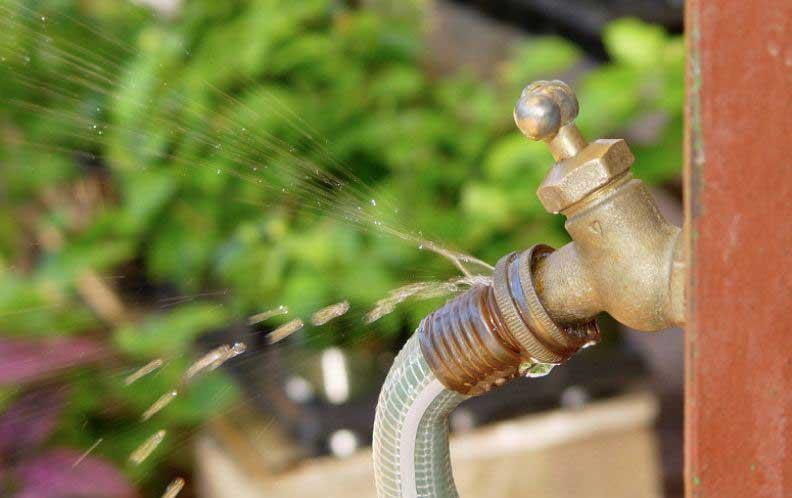 hose faucet leak