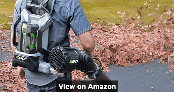 EGO Bare 145 MPH 600 CFM Cordless Electric Backpack Blower