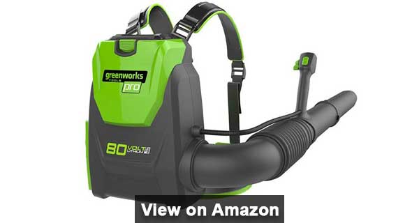 Greenworks BPB80L00 Cordless Electric Backpack Blower