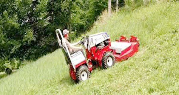 How to mow safely on the hills : A Definite Guide for Beginner