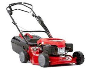 Self- propelled lawn mower