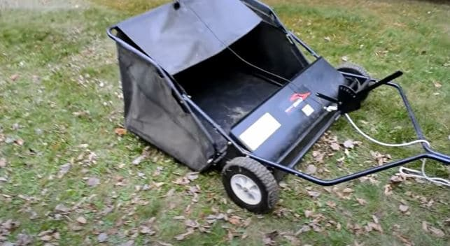 Pull Behind Lawn Sweeper
