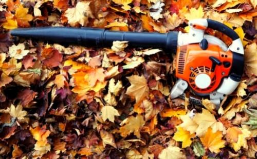 gas leaf blowers