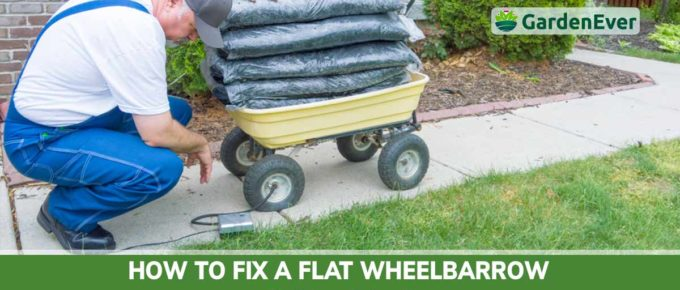How to Fix a Flat Wheelbarrow Tire