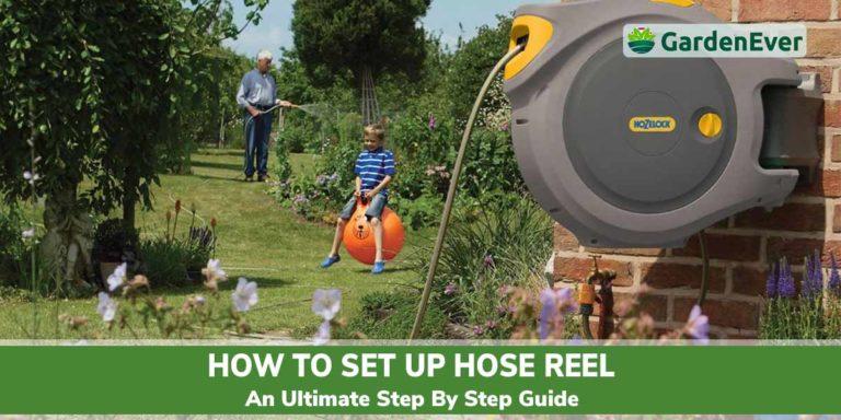 How to setup Garden hose reel
