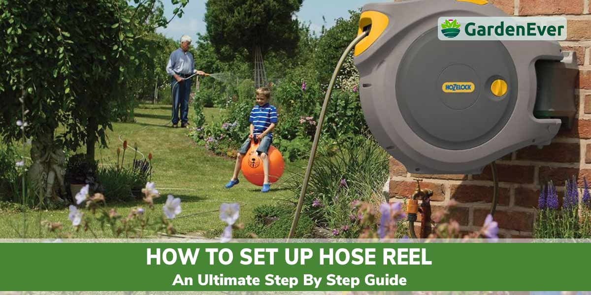 How to setup Garden hose reel
