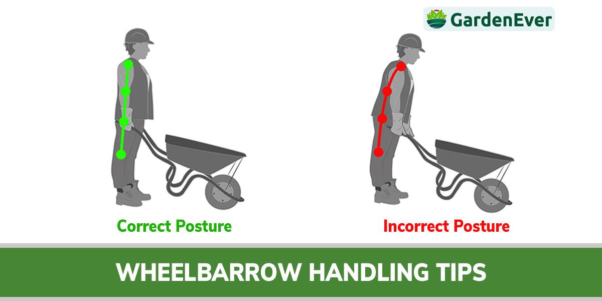 wheelbarrow handling tips