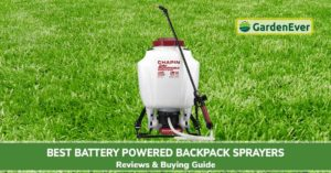 Best Battery Powered Backpack Sprayers