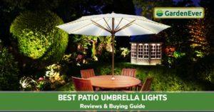 Best Patio Umbrella Lights
