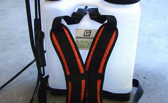 double padded backpack sprayer strap