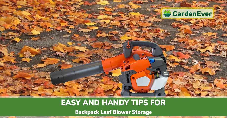 Tips for Backpack Leaf Blower Storage