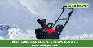 Best Cordless Electric Snow Blower