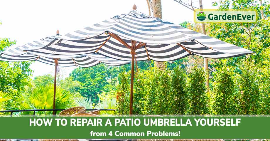 How to Repair a Patio Umbrella Yourself
