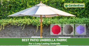 Best Patio Umbrella Fabric