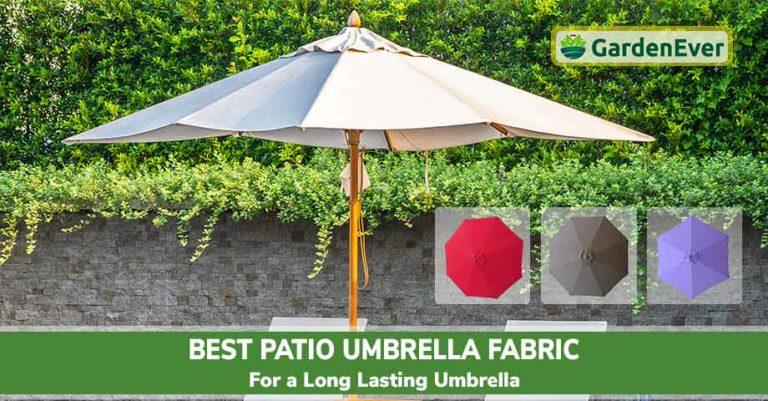 Best Patio Umbrella Fabric