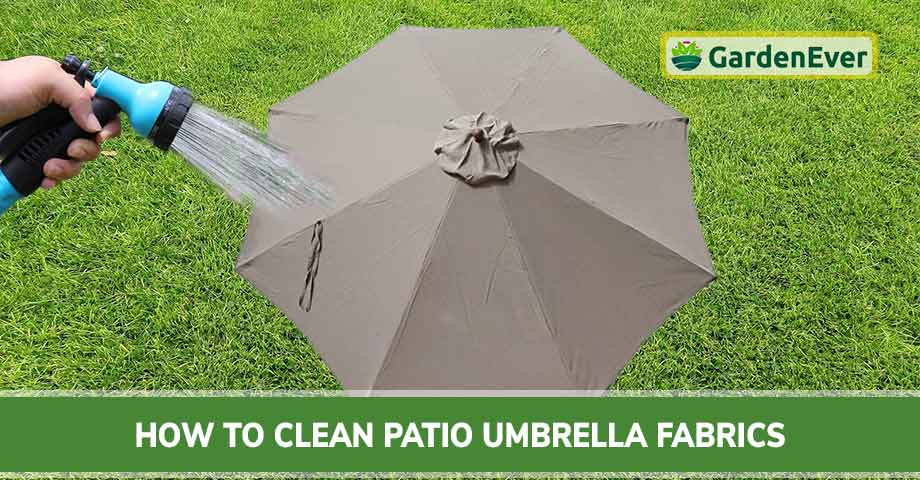 How to Clean Patio Umbrella Fabrics