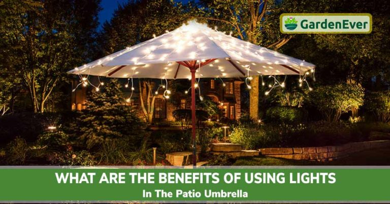benefits of patio umbrella lights