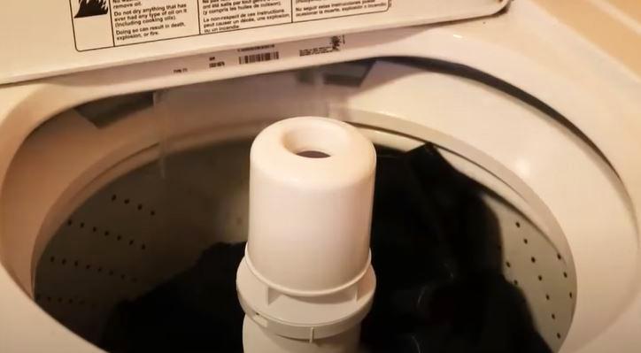 clean patio umbrella fabric in washing machine