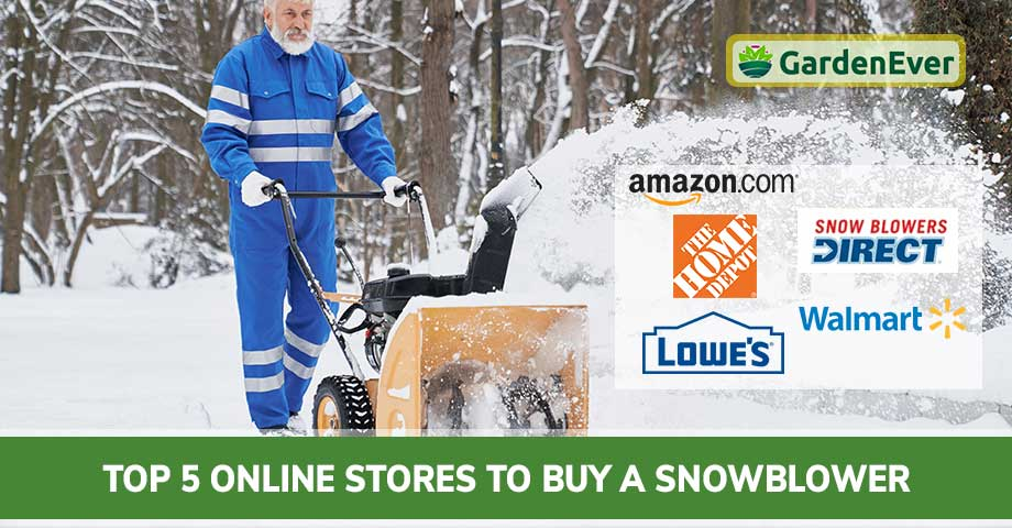 Top 5 Online Stores to Buy a Snowblower