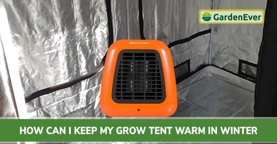 Keeping Grow Tent Warm in Winter