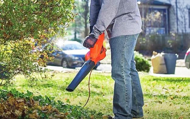 corded leaf blower