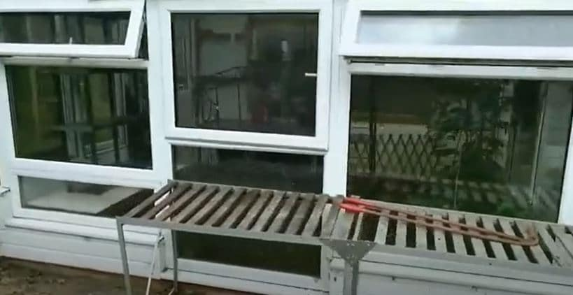 double glazed greenhouse